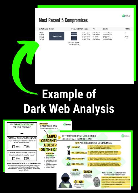 Example of dark web analysis-1